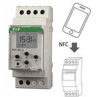 Programatory, Zegar sterujący tygodniowy włącz / wyłącz jednokanałowy PCZ-521 F&F