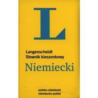 Książki do nauki języka, Kieszonkowy słownik polsko-niemiecki, niemiecko-polski (rok 2014) (opr. miękka)