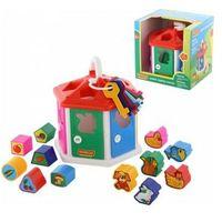 Pozostałe zabawki, Sorter kształtów Domek dydaktyczny (pudełko) - DARMOWA DOSTAWA OD 250 ZŁ!!