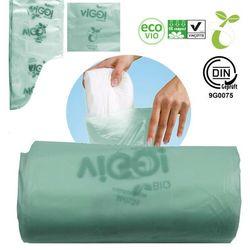 Worki na zużyte pieluchy biodegradowalne 10L 10szt