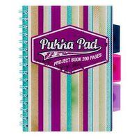 Zeszyty, Kołozeszyt Pukka-Pad Project Book Americano 6985 A5/200k. kratka