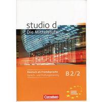 Książki do nauki języka, Studio d B2/2 Sprach und Prufungstraining (opr. miękka)