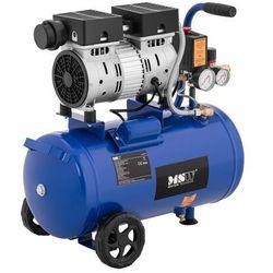 MSW Kompresor bezolejowy - 550 W - 24 l - 8 bar MSW-0AC550-24L - 3 LATA GWARANCJI