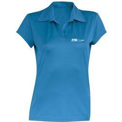 TTK POLO WOMAN CAPSULE BLUE - koszulka tenisowa R. L