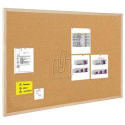 Tablica korkowa BI-OFFICE rama drew. 100x80cm