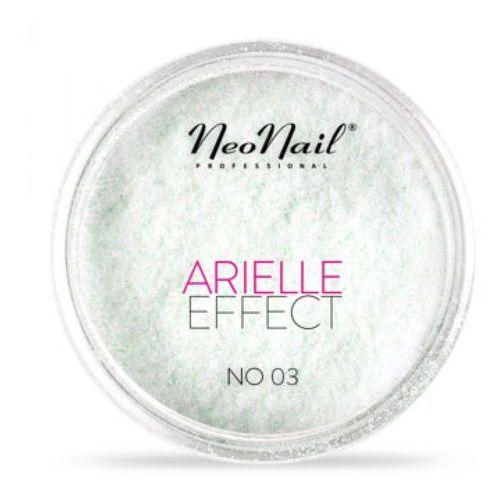 Ozdoby na paznokcie, NeoNail ARIELLE EFFECT Pyłek No 03 - ROSE