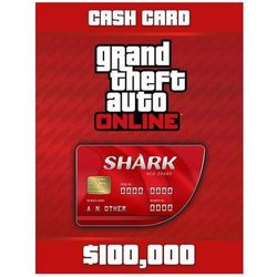 Grand Theft Auto Online: Red Shark Cash Card - Windows - Akcja