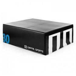 S Rookso SoftJUmp Box Plyoskrzynia plyometryczna do skoków 90x30x75 cm czarn