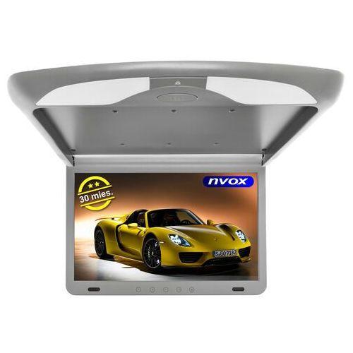 "Monitory samochodowe, Monitor podwieszany podsufitowy LCD 17"" cali LED FULL HD HDMI USB SD IR FM"