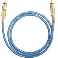 Kable audio, Kabel cyfrowy RCA, Oehlbach NF113, wtyk RCA / wtyk RCA, 75 Ohm, niebieski, 2 m