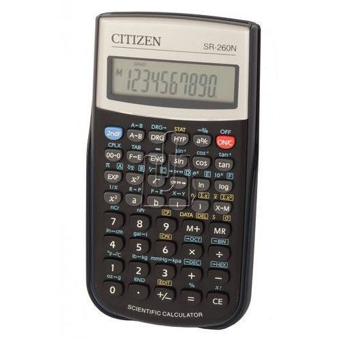 Kalkulatory, Kalkulator CITIZEN SR-260N