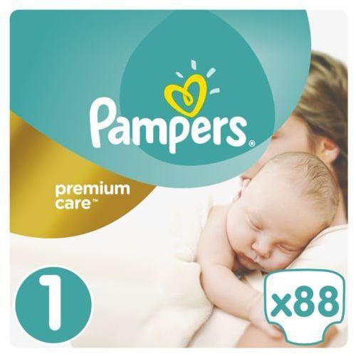Pieluchy jednorazowe, Pampers Pieluchy Premium Care 1 Newborn (88 szt.)