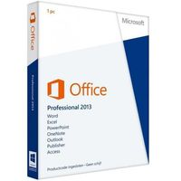 Programy biurowe, Microsoft Office Professional BOX PL 2013