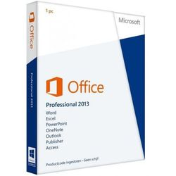 Microsoft Office Professional BOX PL 2013