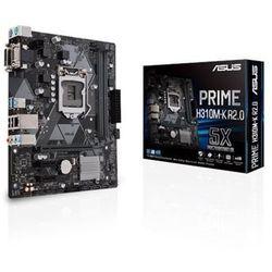 ASUS PRIME H310M-K R2.0 Płyta główna - Intel H310 - Intel LGA1151 socket - DDR4 RAM - Micro-ATX
