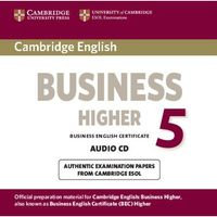 Książki do nauki języka, Cambridge English Business (BEC) 5 Higher CD do Podręcznika
