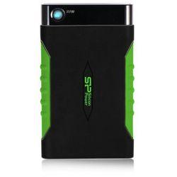 Dysk zewnętrzny Silicon Power ARMOR A15 1TB USB3.0 PANCERNY, LED, gumowa obudowa, odporny na wstrząsy