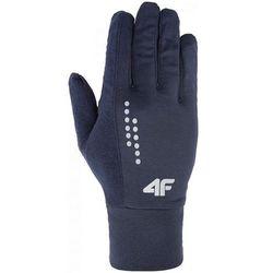 Rękawiczki REU001 H4Z17 denim melanż M - M