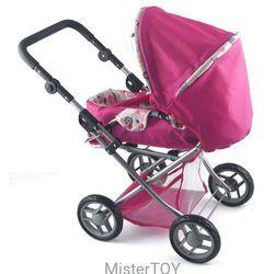 Wózek spacerowy dla lalek delux