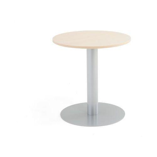 Meble do restauracji i kawiarni, Stół na filarze, Ø700x720 mm, brzoza