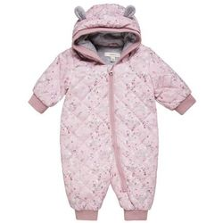 Name it NBFMALENE QUILT SUIT BABY Kombinezon dawn pink