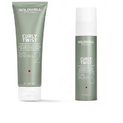 Goldwell Zestaw do loków | StyleSign Curly Twist Curl Control 100ml, StyleSign Curly Twist Curl Splash 100ml