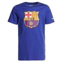 Nike Performance FC BARCELONA TEE EVERGREEN CREST Artykuły kibica deep royal blue