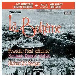 PUCCINI LA BOHEME (2CD + 1 BLU-RAY AUDIO) - Luciano Pavarotti (Płyta CD)