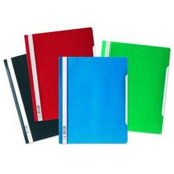 Skoroszyt A4 z przezroczystą okładką standardowy z PVC, zielony, Durable