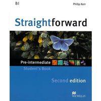 Książki do nauki języka, Straightforward pre-intermediate Worbook + CD (opr. miękka)