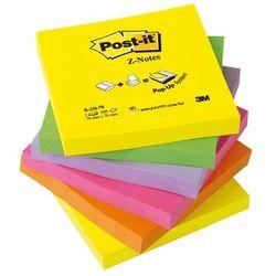 Bloczek samoprzylepny POST-IT Z-Notes neon (R330-NR), 76x76mm, 6x100 kart