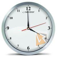Zegary, Esperanza Zegar ścienny Detriot biały (EHC009W) Szybka dostawa! Darmowy odbiór w 21 miastach!