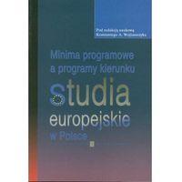 Pedagogika, Minima programowe a programy kierunku studia europejskie w Polsce (opr. miękka)