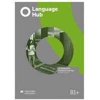 Książki do nauki języka, Language Hub Intermediate B1+ WB + key MACMILLAN - praca zbiorow (opr. broszurowa)