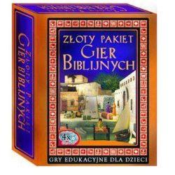 Złoty Pakiet Gier Biblijnych 4xCD/DVD