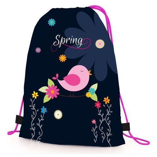 Pozostałe artykuły szkolne, Karton P+P Worek na kapcie Premium Spring