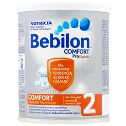 Bebilon COMFORT 2 ProExpert mleko następne na kloki i zaparcia po 6 miesiącu 400g