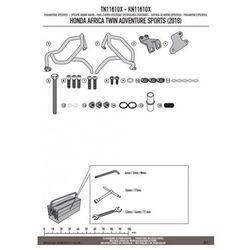 Kappa kn1161ox gmole osłony silnika honda crf 1000l