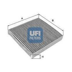 Filtr, wentylacja przestrzeni pasażerskiej UFI 54.136.00