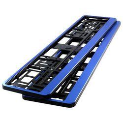 Ramki pod tablicę rejestracyjną HP Niebieskie 2 szt - Niebieski
