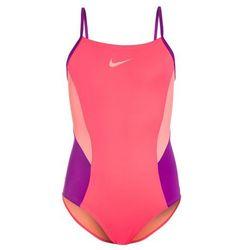 Nike Performance COLORBLOCK VBACK TANK Kostium kąpielowy racer pink