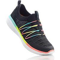 Damskie obuwie sportowe, Buty sportowe wsuwane Skechers z pianką Memory bonprix czarno-kolorowy