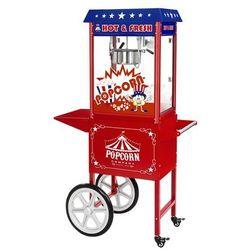 Maszyna do popcornu - wózek - amerykański design