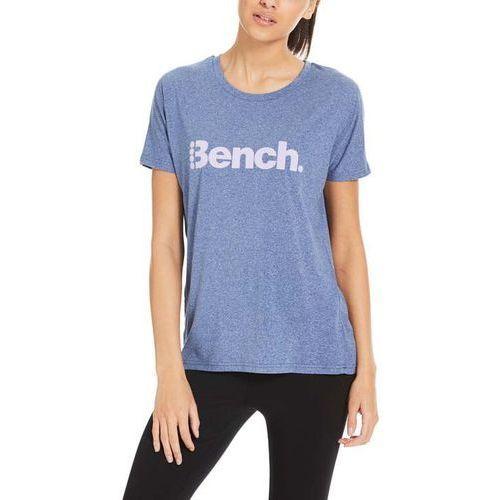 Pozostała odzież damska, koszulka BENCH - Snow Tee Blue Depths Marl (MA1007) rozmiar: S