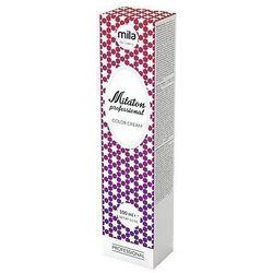 Mila Milaton farba do włosów z efektem żywego i głębokiego tonu 100ml 1007 Superrozjaśniający fioletowy blond