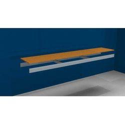 Dodatkowa półka, z trawersami i płytą wiórową, szer. x gł. 2250 (2x1125 mm) x 40