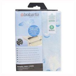 Brabantia - pokrowiec na deskę do prasowania 135 x 45cm - pianka 2mm - ice water - jasnoniebieski