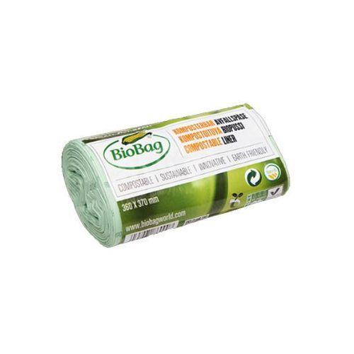 Pozostałe środki czyszczące, Worki na odpady organiczne biodegradowalne i kompostowalne w 100% idealne do MaxAir II 6L rolka 30 szt- BIOBAG