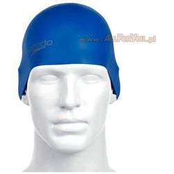 Czepek Speedo Moulded silicone cap neon blue