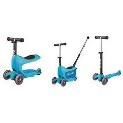 Micro Mini2go Deluxe Blue jeździk+hulajnoga MMD034